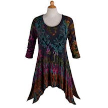 Tie-Dye Tunic Top - Jennifer