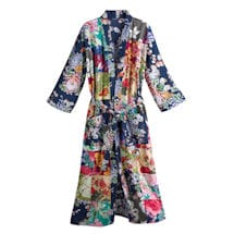 Colorful Patches Kimono Robe