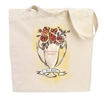 Downton Abbey Flower Show Tote