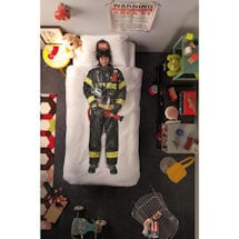 Kids' Dress-Up Bedding - Firefighter
