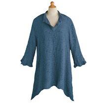 Textured Silk Artist's Tunic