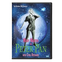 Peter Pan Starring Mary Martin DVD & Blu-ray
