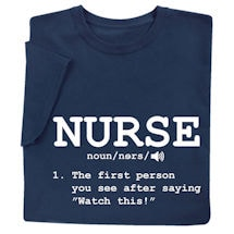 Shirts For Nurses - Nurse Definition