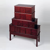 Apothecary Media Chest Cherry