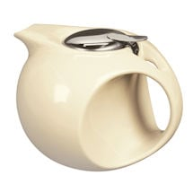 Art Deco Teapot - Pale Yellow