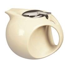 Art Deco Teapot - Pale Yellow
