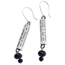 Dictionary Cuff Earrings