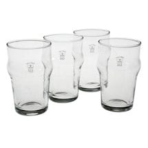 Authentic British Pub Glasses: Half-Pint Glasses