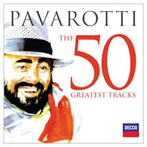 Pavarotti: The 50 Greatest Tracks CD