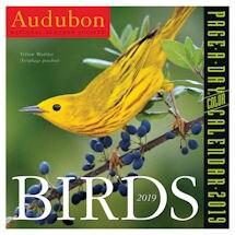Audubon Birds 2019 Page-ADay Calendar