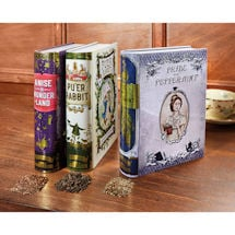 Novel Tea Tins