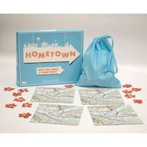Hometown: A Personalized Map Puzzle Game