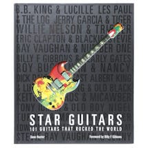 Star Guitars Book - History of Legendary Guitars and Players - 101 Guitars That Rocked The World