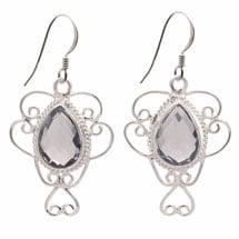 Lady Iolite Sterling Earrings