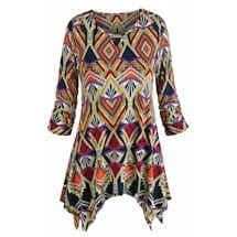 Diamonds Are a Girls Best Friend Tunic Top