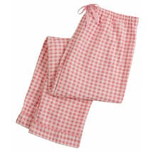 Pink Gingham Check Lounge Set