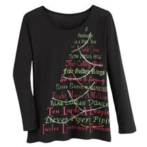 12 Days Of Christmas Tee
