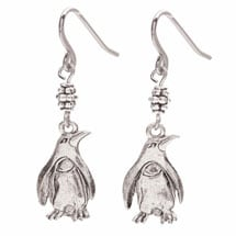 Plump Penguin Earrings