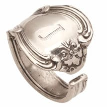 Personalized Silver Spoon Ring