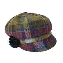 Irish Wool Hat - Plaid