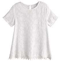 Willa Lace Trimmed Top
