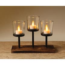 Knighton Triple Votive Holder