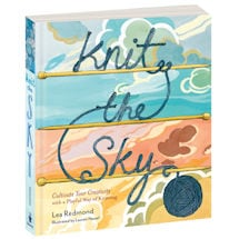 Knit The Sky Hardcover Book
