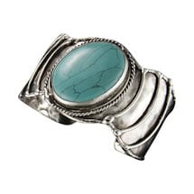 Amazonite Statement Bracelet