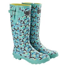 UK Designed Wellies - Water Bubbles