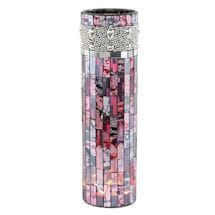 Beaded Mosaic Led Vase