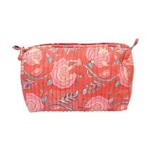 Peony Blooms Toiletries Bag