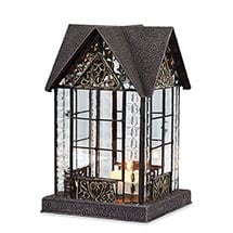 Architectural Tea Light Candle Lantern: Devonshire