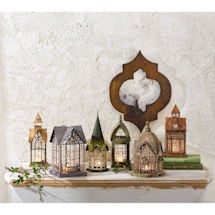 Architectural Tea Light Candle Lantern: Special Price Set of All 6 Styles