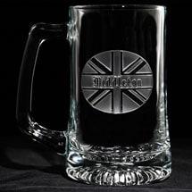 Personalized British Pride Beer Mug