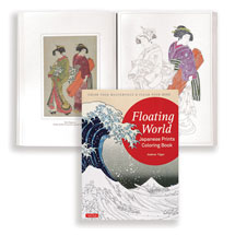 Floating World Coloring Book Book