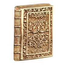 Filigree Book Pin