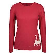 Christmas Cat Long Sleeve T-Shirt