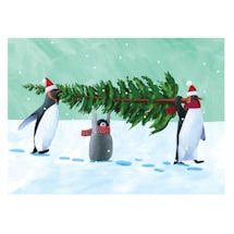 Penguin Tree Note Cards