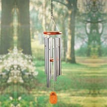 Amazing Grace Wind Chimes - Engraved