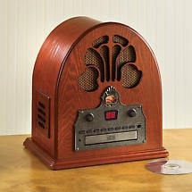 Cathedral AM/FM Radio with CD Player