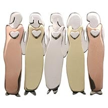 Five Women Pin