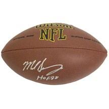 Autographed NFL Footballs - Mike Singletary