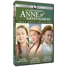 PRE-ORDER L.M. Montgomery's Anne of Green Gables: Three Movie Collection DVD