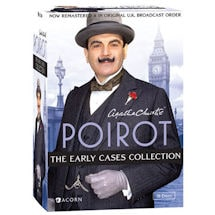 Agatha Christie's Poirot: The Early Cases Collection Blu-ray