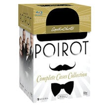 Agatha Christie's Poirot: The Complete Cases Collection DVD & Blu-ray