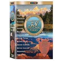 America's 58 National Parks DVD