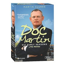 Doc Martin - The Six Surly Collection: Series 1-6 + The Movies