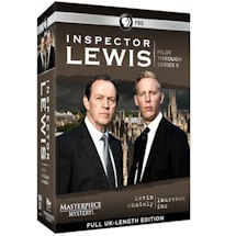 Inspector Lewis: Pilot through Series 6 DVD