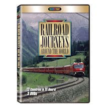 Railroad Journeys Around the World DVD