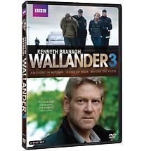 Wallander: Season 3 DVD